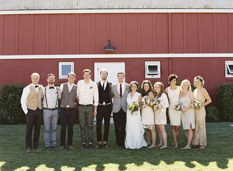 Mismatched Bridal Party Attire Ideas Bridal parties Wedding and