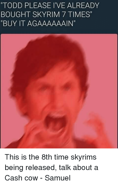 Todd Howard Memes