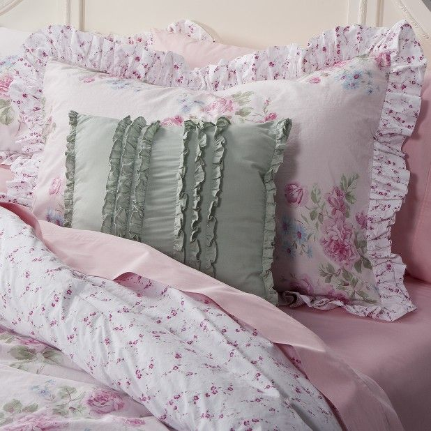 Shabby Chic Pillows Target : Target Misty Rose Shabby Chic Bedding Shabby Chic Love Pinterest Chic bedding
