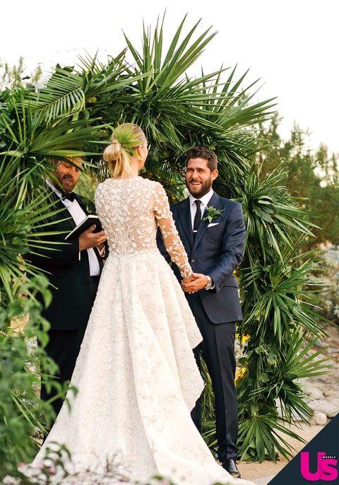See Whitney Port S Stunning Wedding Album Whitney Port Wedding Wedding Dresses Wedding