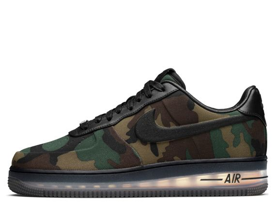 Nike Air Force 1 Faible Polaire Max Camouflage