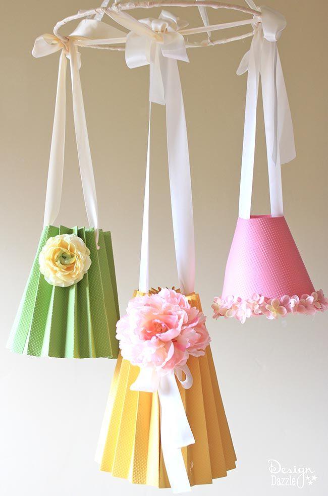 DIY Paper Lampshade Decor