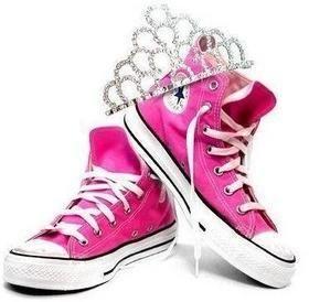 basket Converse rose fluo,chaussures Converse till enfants