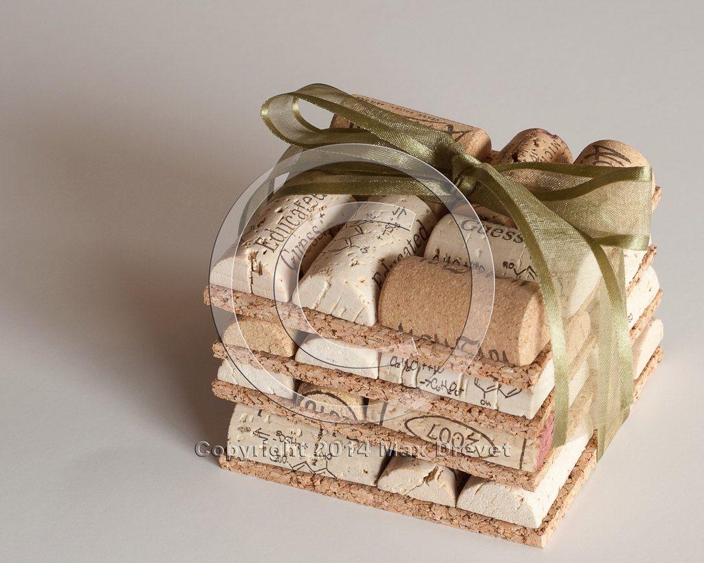 Christmas decorations wine cork coasters set of wine cork crafts