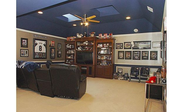 Man Cave Cowboys Themed Man Cave Colors Man Cave Home Projects