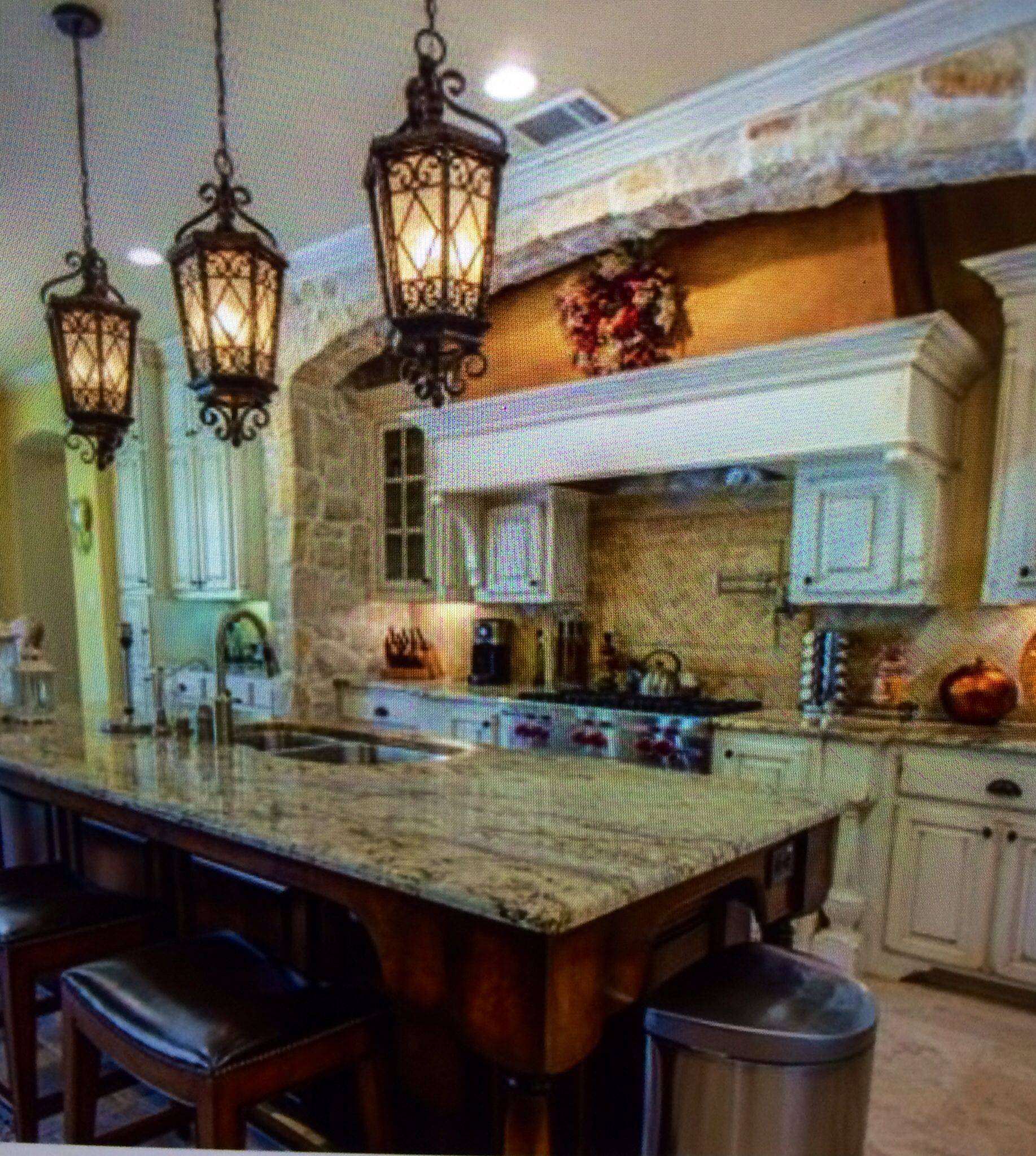Kitchen Lanterns And Sunken In Counters Casa De Polk Awesome Kitchen Lanterns Review