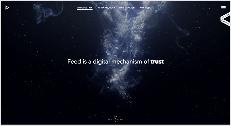 30 Great Websites With Parallax Scrolling Parallax Cool Websites Web Design Inspiration