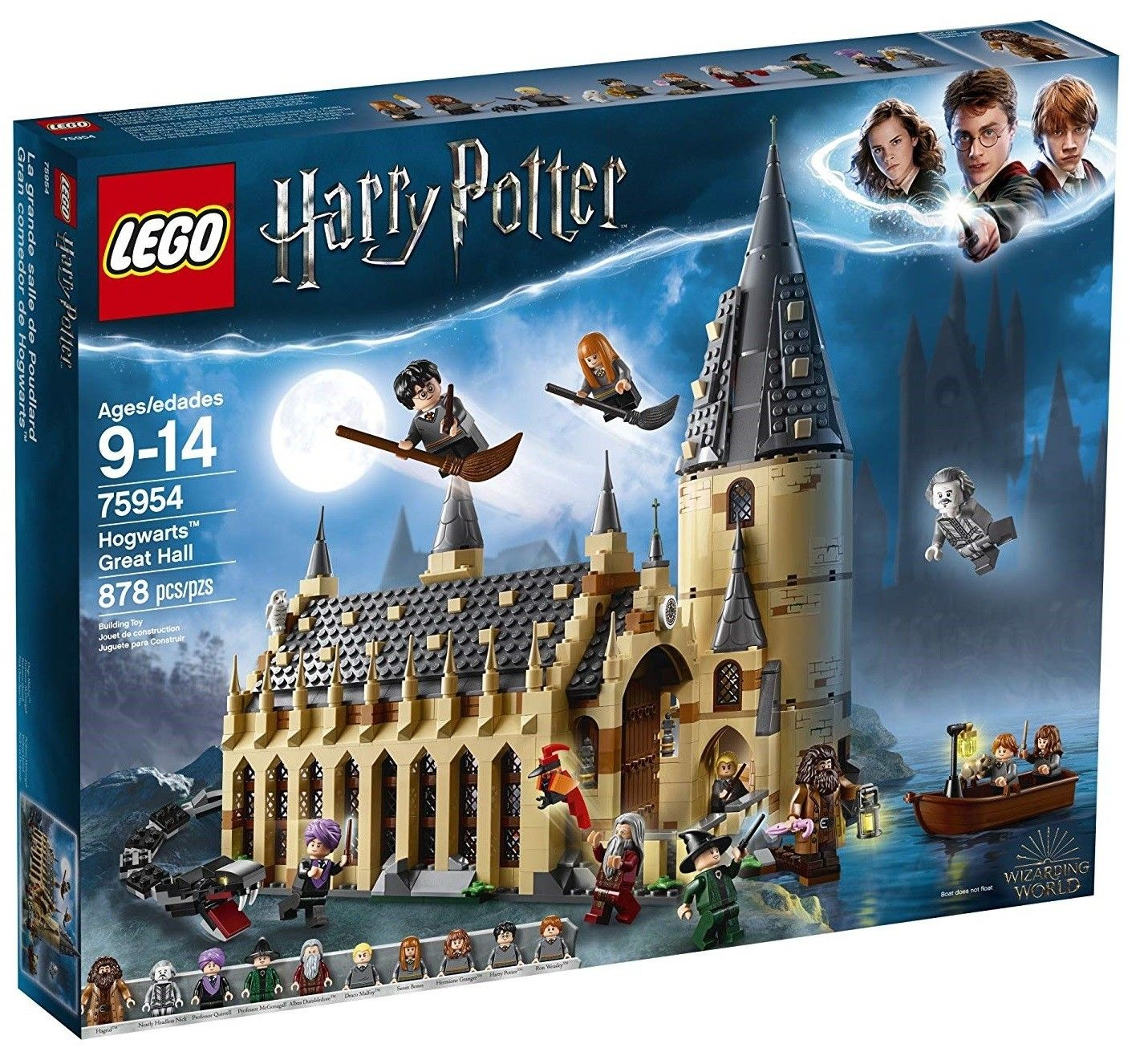 Lego Hogwarts Great Hall Building Set Ages 9 To 14 Lego Hogwarts Hogwarts Great Hall Lego Harry Potter