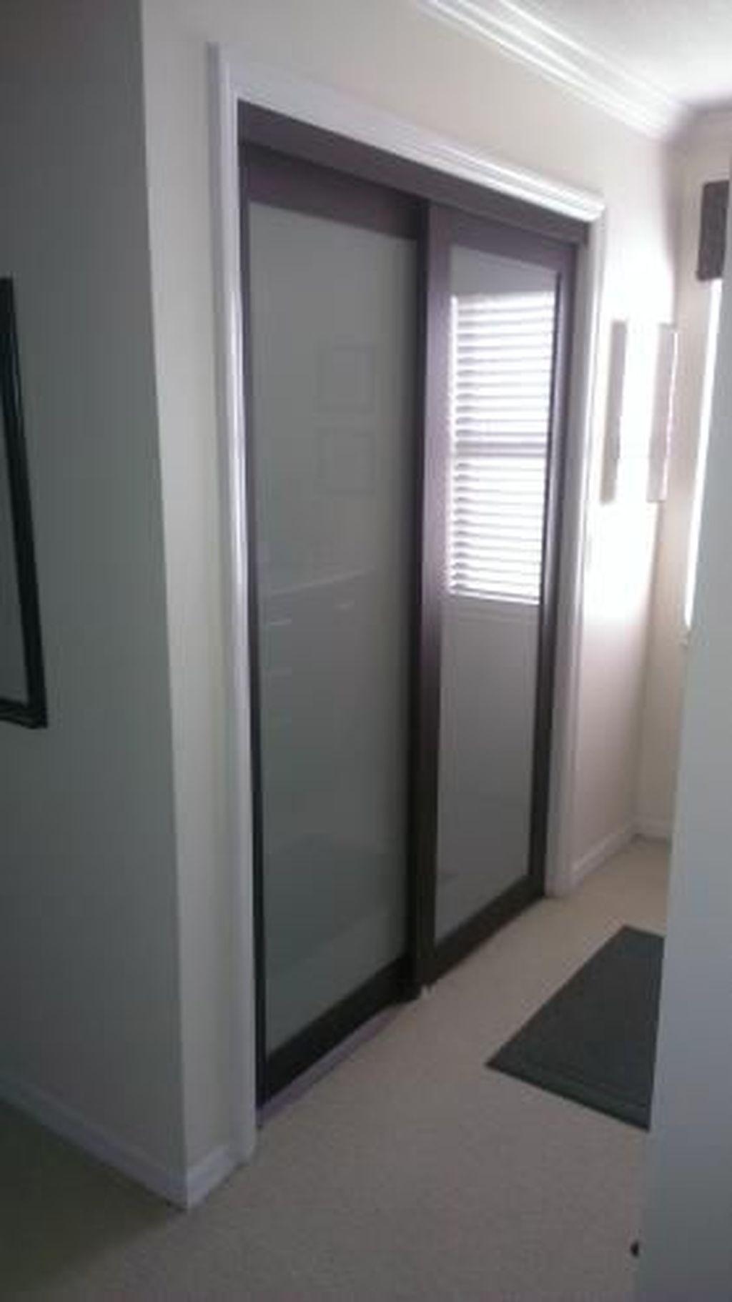 20 Amazing Sliding Door Wardrobe Design Ideas Glass Closet Doors Closet Door Makeover Frosted Glass Closet Doors
