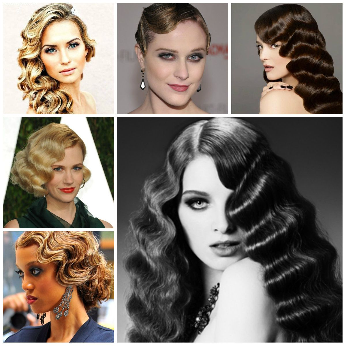vintage finger wave hairstyles to try in 2016 | wedding