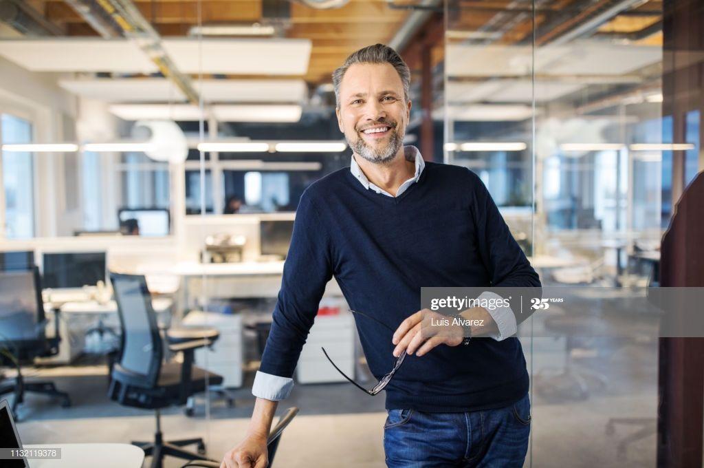 Portrait Of Successful Mid Adult Businessman Photography #Ad, , #AD, #Mid, #Successful, #Portrait, #Photography