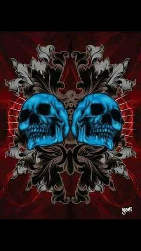 Two Skulls Cool Skull Artwork Skull Wallpaper Skull Pictures Cool skull wallpaper images