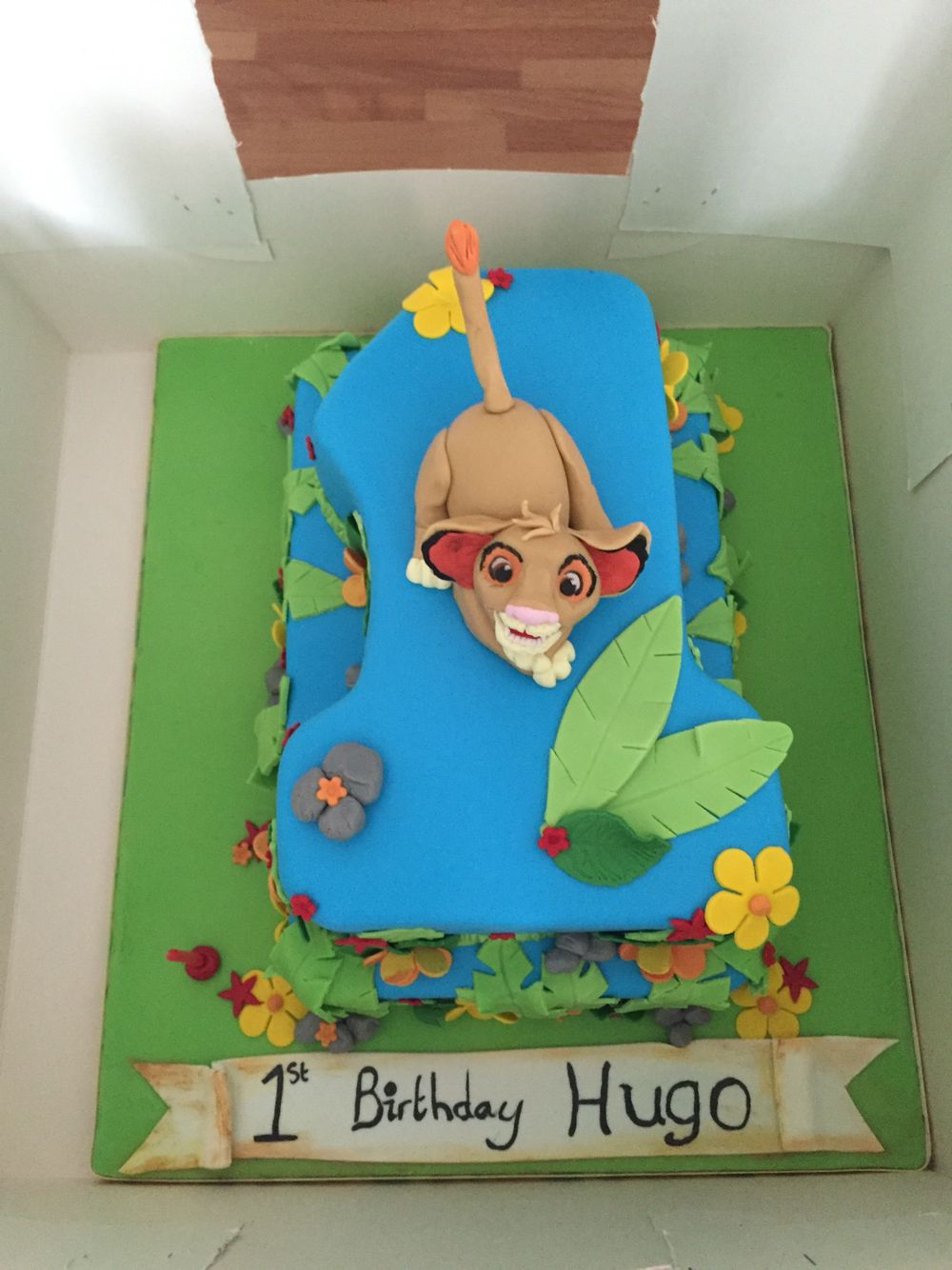 Lion king 1st Birthday cake Hugos Lion King 1st Birthday Party