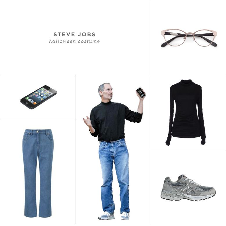 361937e311a13 Halloween #Costume Ideas With Glasses | Steve Jobs | Rivet & Sway ...