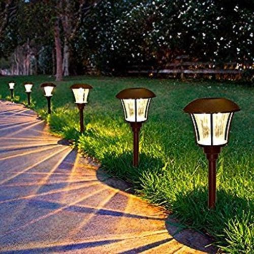 Smartyard Led Solar Pathway Lights 8 Pack Powered By Energizer
