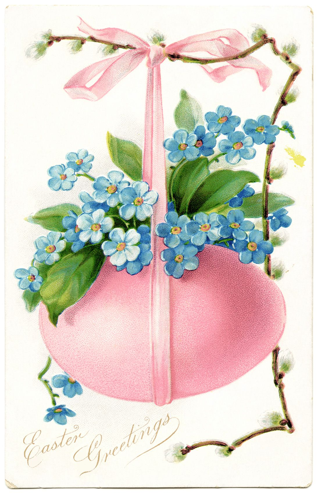 Easter vintage from olddesignshop.com | Clip Art | Pinterest Easter Clip Art Free Retro