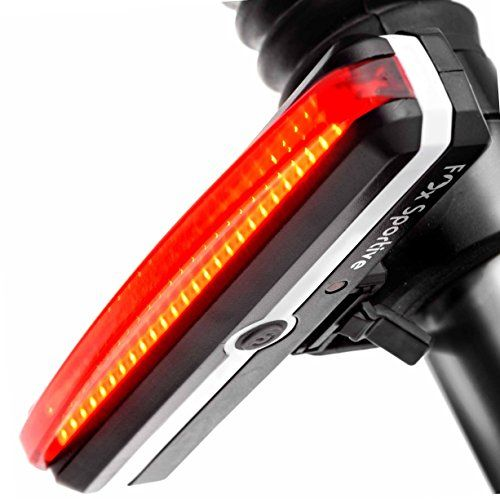 Red Led Rear Bike Light Usb Rechargeable Bicycle Tail Light By Fox