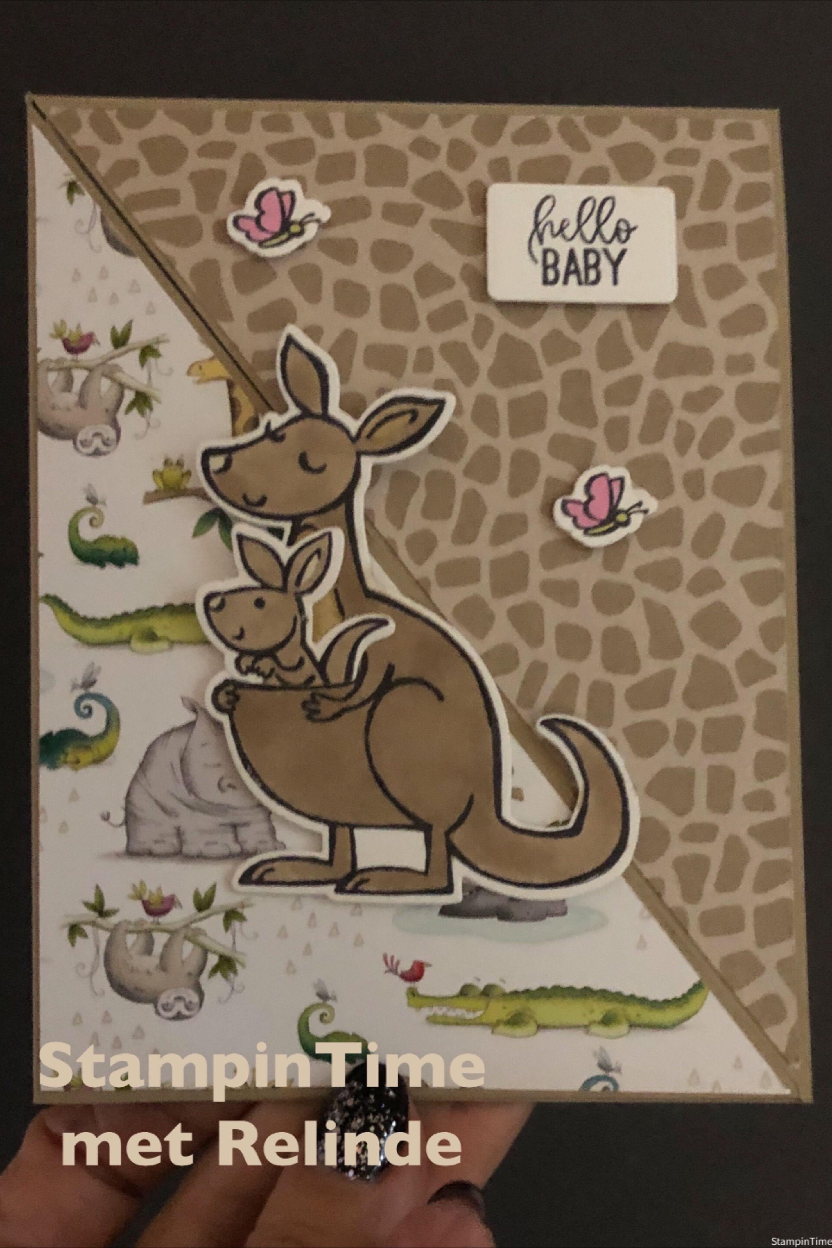 Trifold  Kangaroo & Company StampinUp!