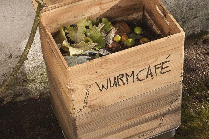 Wurmfarm selber bauen - DIY Anleitung für eigenen Wurmkompost #gartenrecycling