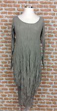 PRIVATSACHEN Long Sleeved Crash Silk Balloon/Tulip Dress