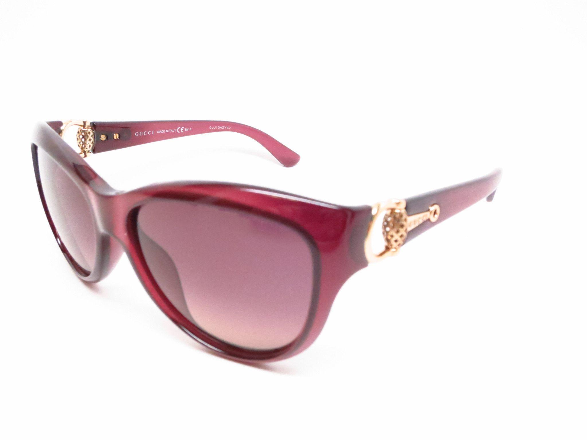 88fca223c8 Gucci GG 3711 S 0D0R4 Burgundy Sunglasses