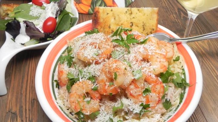 Garlic Shrimp Scampi Recipe #shrimpscampi