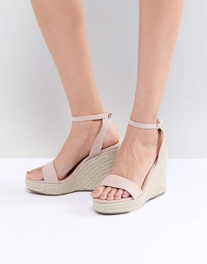7e26bab65f0 New Look Espadrille Wedge in 2019 | Products | Womens shoes wedges ...