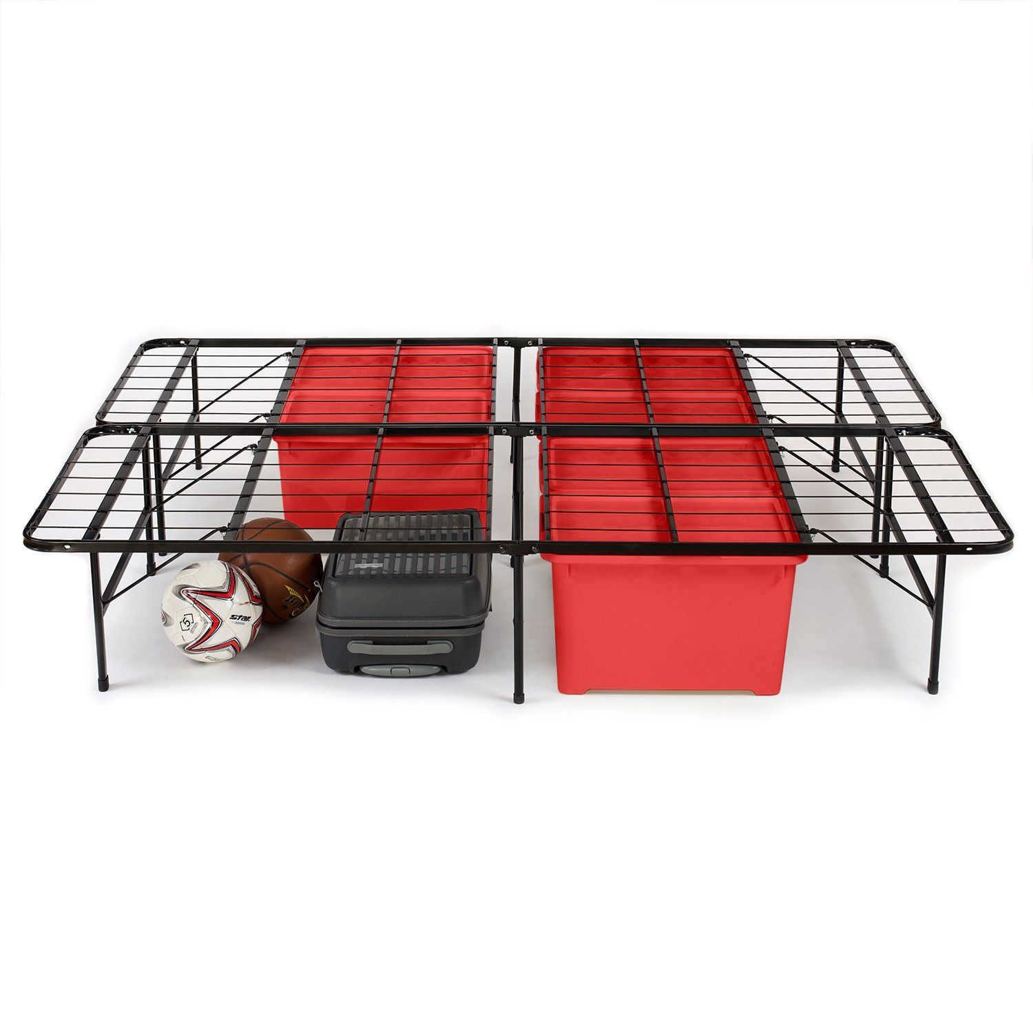 Heavy Duty King Bed Frames For Plus Size People For Big And Heavy