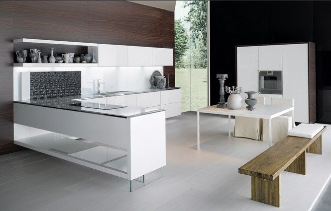 Elam Kitchen Is Conceived Designed And Built Using The Most Modern Materials With Full Respect For The Environm Kitchen Fittings Kitchen Style Modern Kitchen