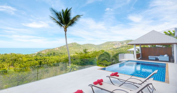 Private Panoramic Sea View Pool Villa In Chaweng Noi #ConradProperties # KohSamui #LuxuryVillas #