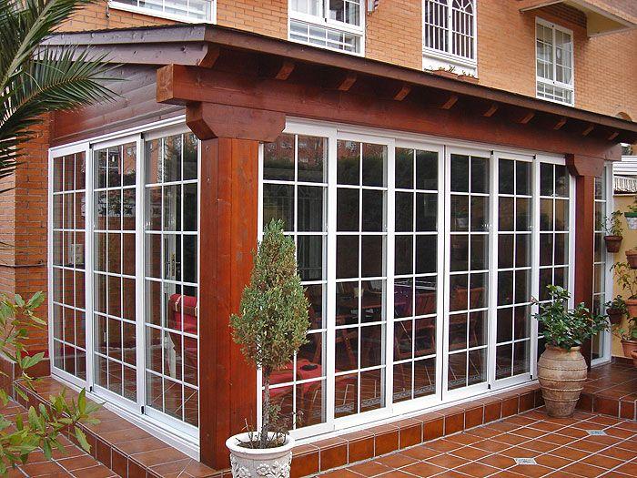 Gana espacio en casa con un cerramiento de aluminio o - Puertas para cerramientos ...