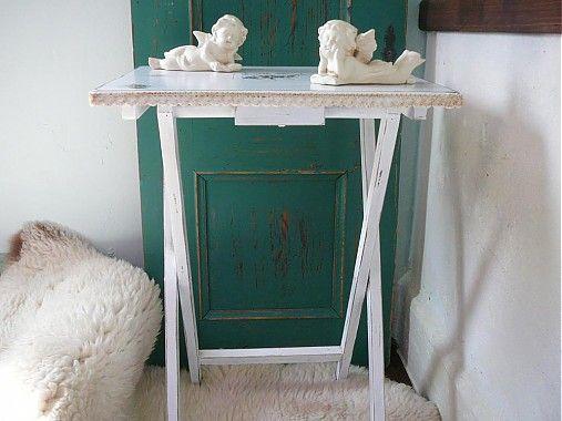 Skladaci stolík HOME by countryhome - SAShE.sk - Handmade Nábytok