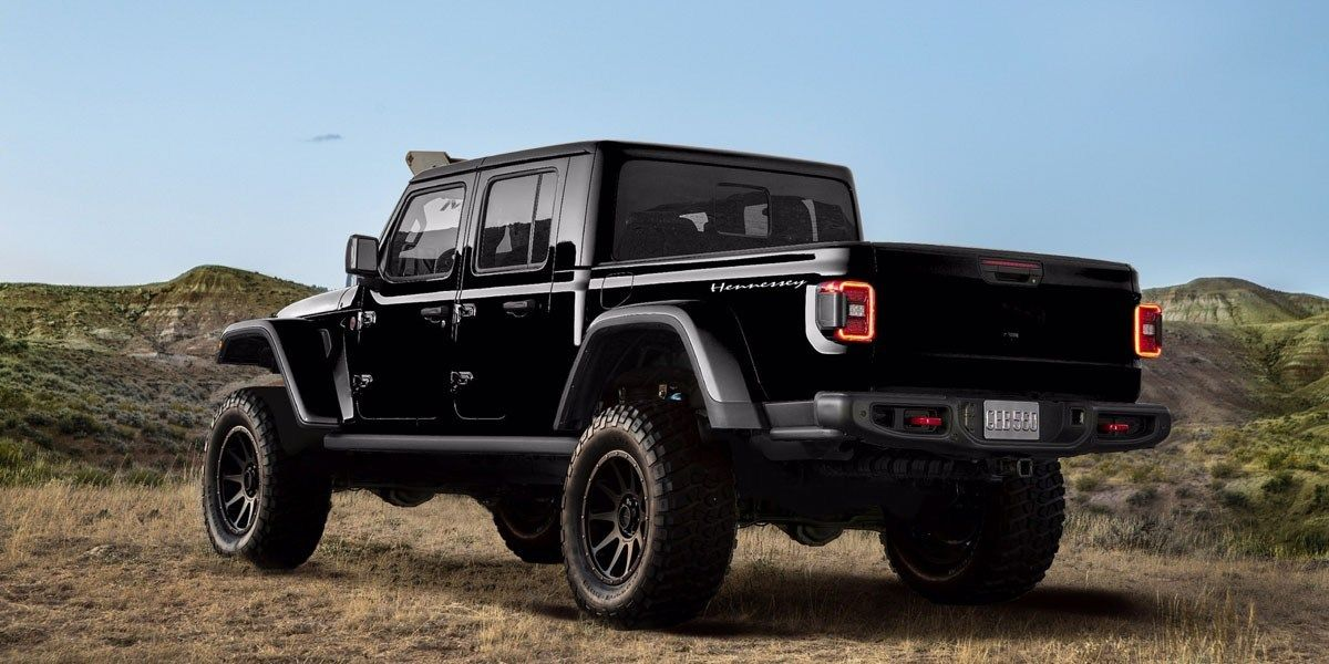 The Hennessey Maximus 1000 Is A Jeep Gladiator On Steroids Jeep