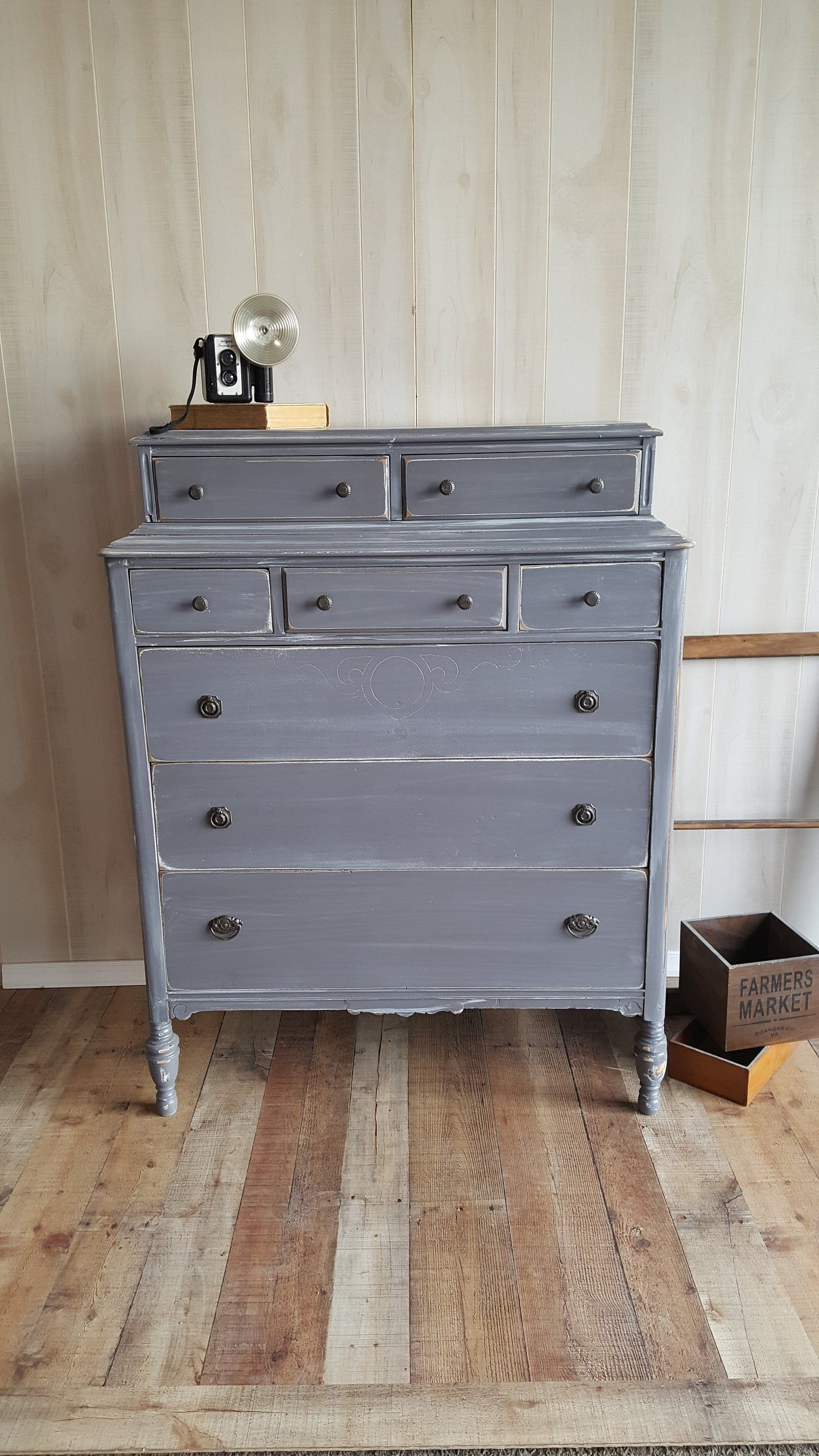 Vintage French Dresser Chest This Dresser Measures 38 Wide 20 Deep And 49 5 Tall This Dresser Has Vintage Painted Furniture Vintage Shabby Chic Shabby Chic