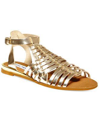 d2ee3ee0025 Steve Madden Women s Comely Flat Gladiator Sandals