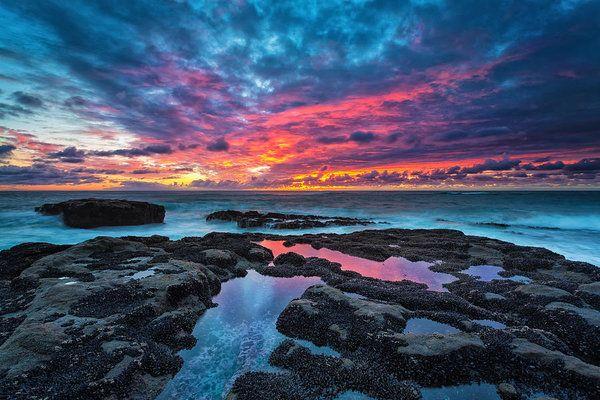 Serene Sunset Art Print