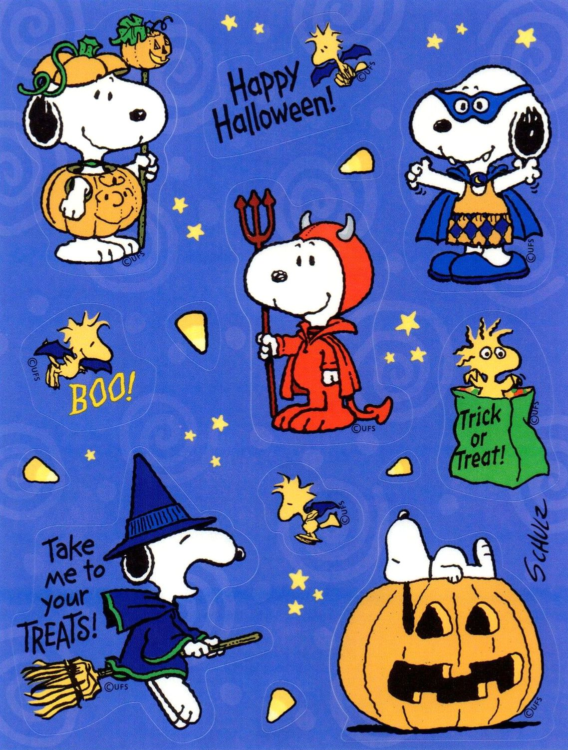 halloween snoopy stickers | charlie brown & snoopy | pinterest