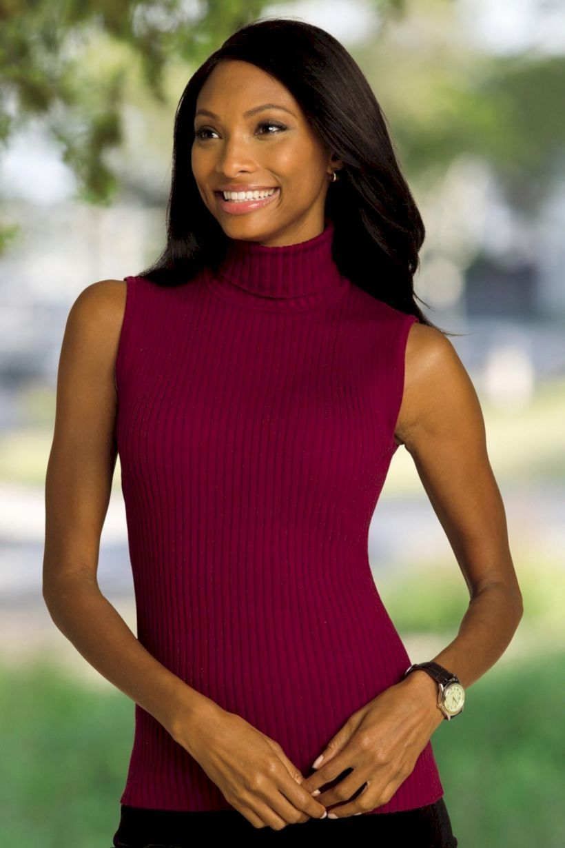 b619dcc0ec1 Awesome 43 Amazing Sleeveless Turtleneck Dress For Women. More at  https   fashionfezt
