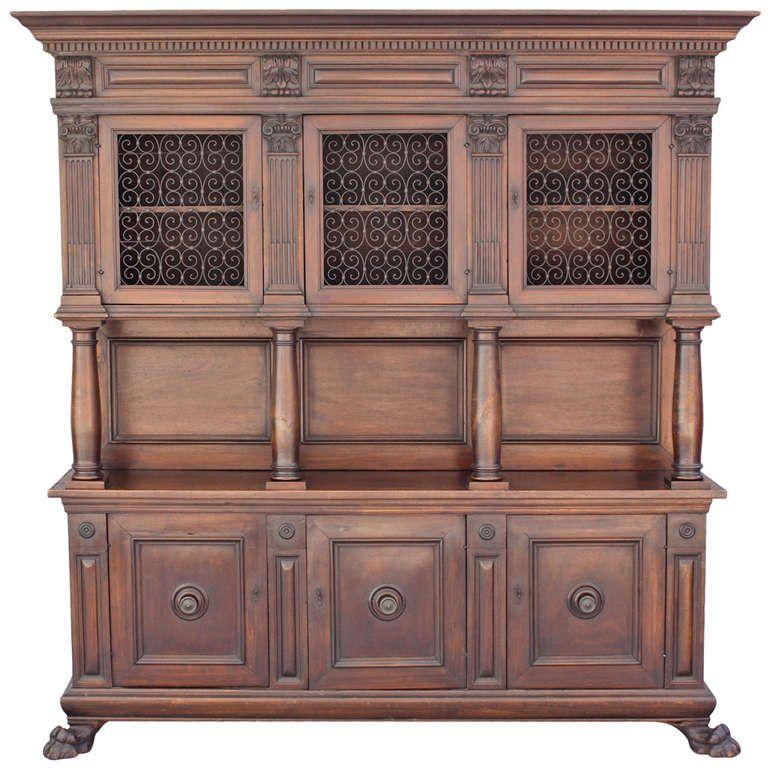 Beautiful Spanish Revival Cabinet | 1stdibs.com