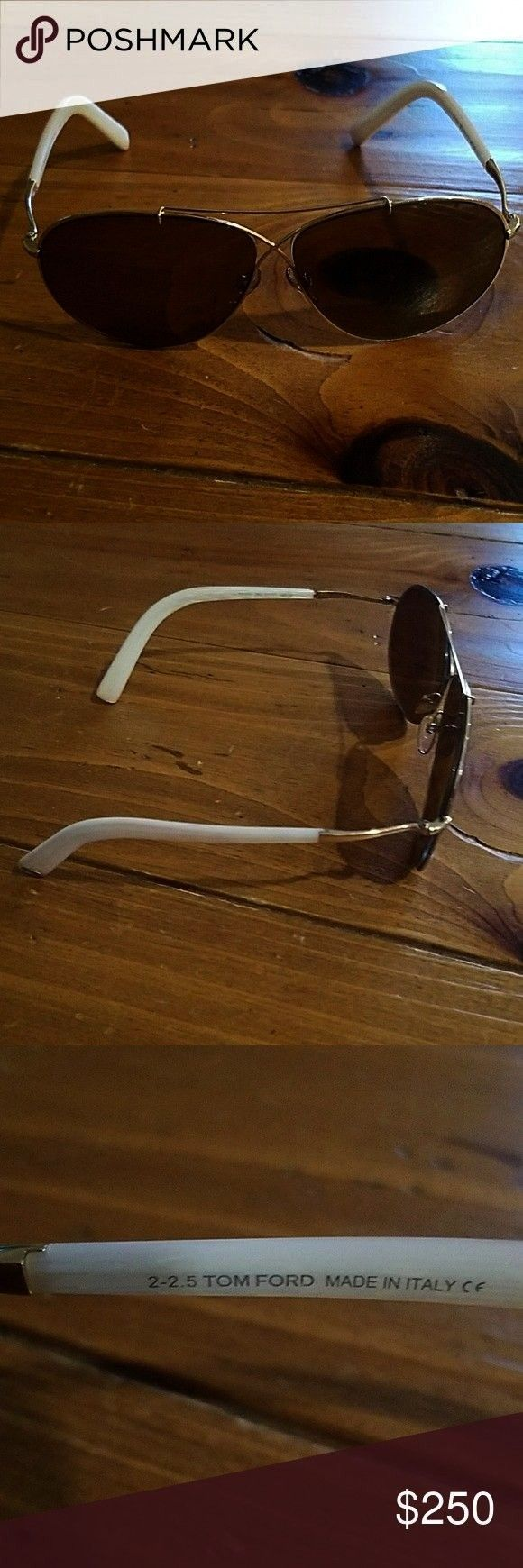 offer!! Authentic Tom Ford Sunglasses Aviator Sunglasses with Original Case Accessories SunglassesM