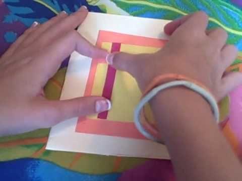 How to make a beautiful craft card craft videos for kids how to make a beautiful craft card m4hsunfo