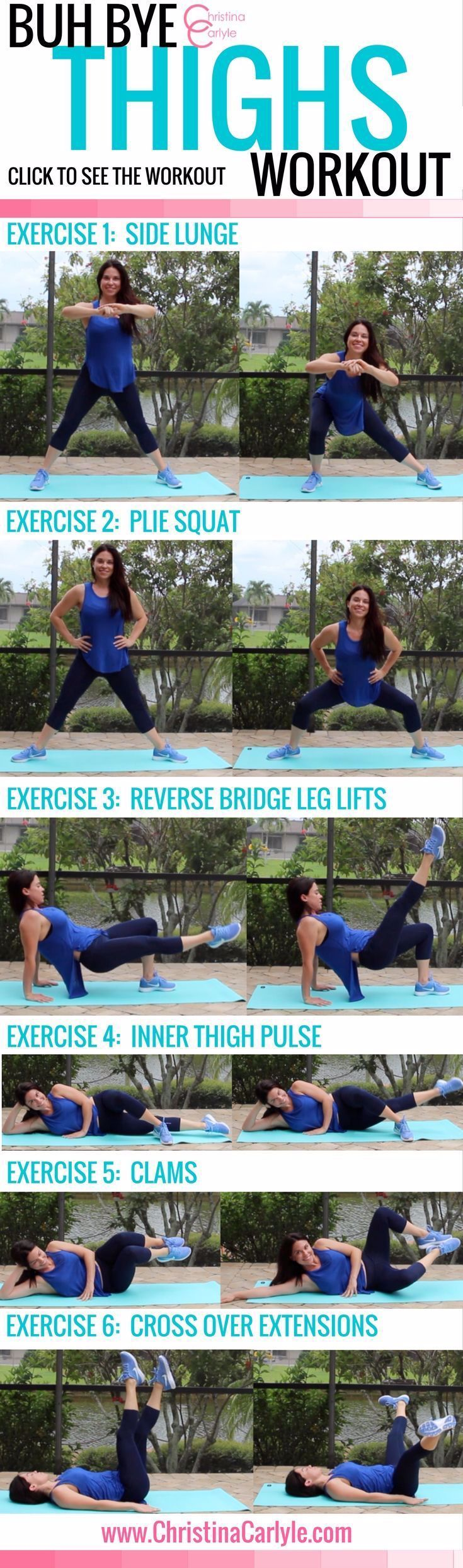 Workouts for Women – Inner Thigh Exercises #EXERCISES #Fitness Training for beginners #Fitness Train...