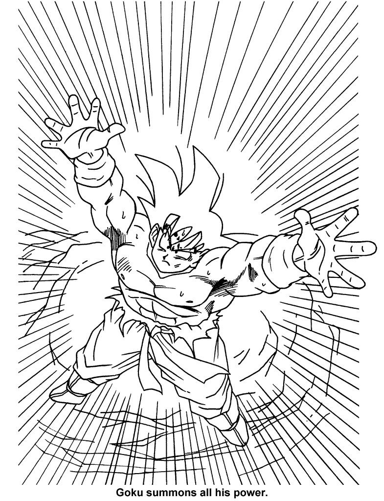 Fein Ssgss Goku Malvorlagen Galerie - Entry Level Resume Vorlagen ...