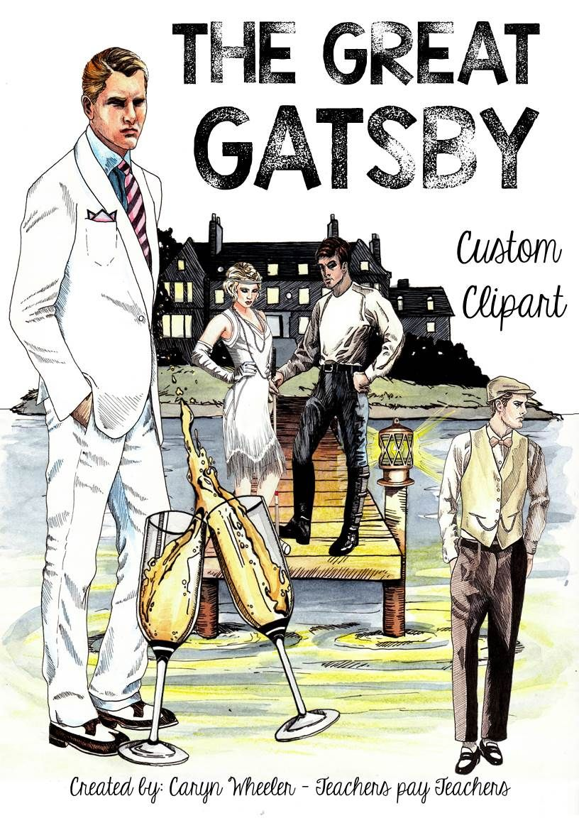 book report on the great gatsby by a kid who only saw the movie