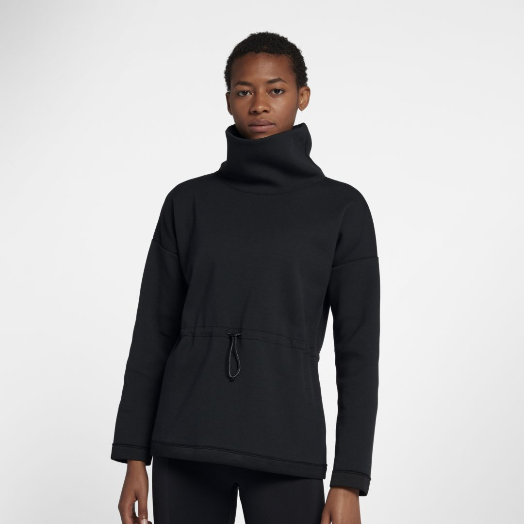 35e83eeb775 Nike Dri-FIT Women's Cowl-Neck Long-Sleeve Training Pullover Size ...