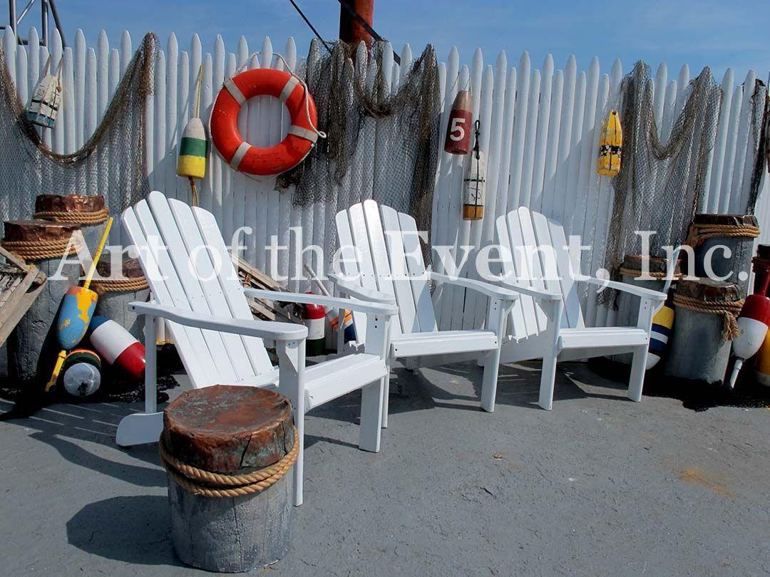 Nautical outdoor decor and furniture outdoor pinterest for Beach themed backyard decor