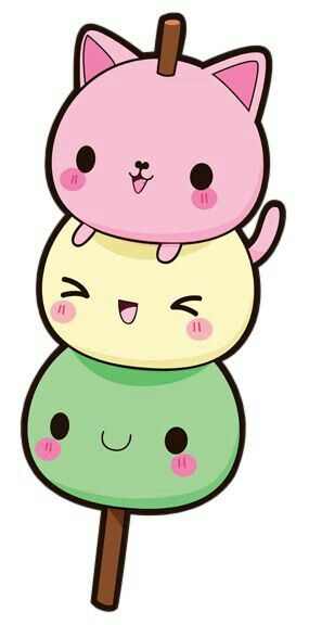 Image of: Kawaii Shop Dango Cat Kawaii Year Of Boxes Dango Cat Kawaii Kawaii 可愛いかわいい Pinterest Kawaii