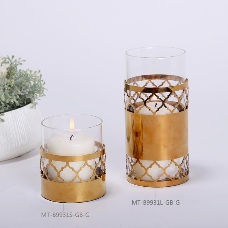 High quality creative wedding decorations gold stylish candle stand high quality creative wedding decorations gold stylish candle stand matching cup candle home accessories for sale junglespirit Images