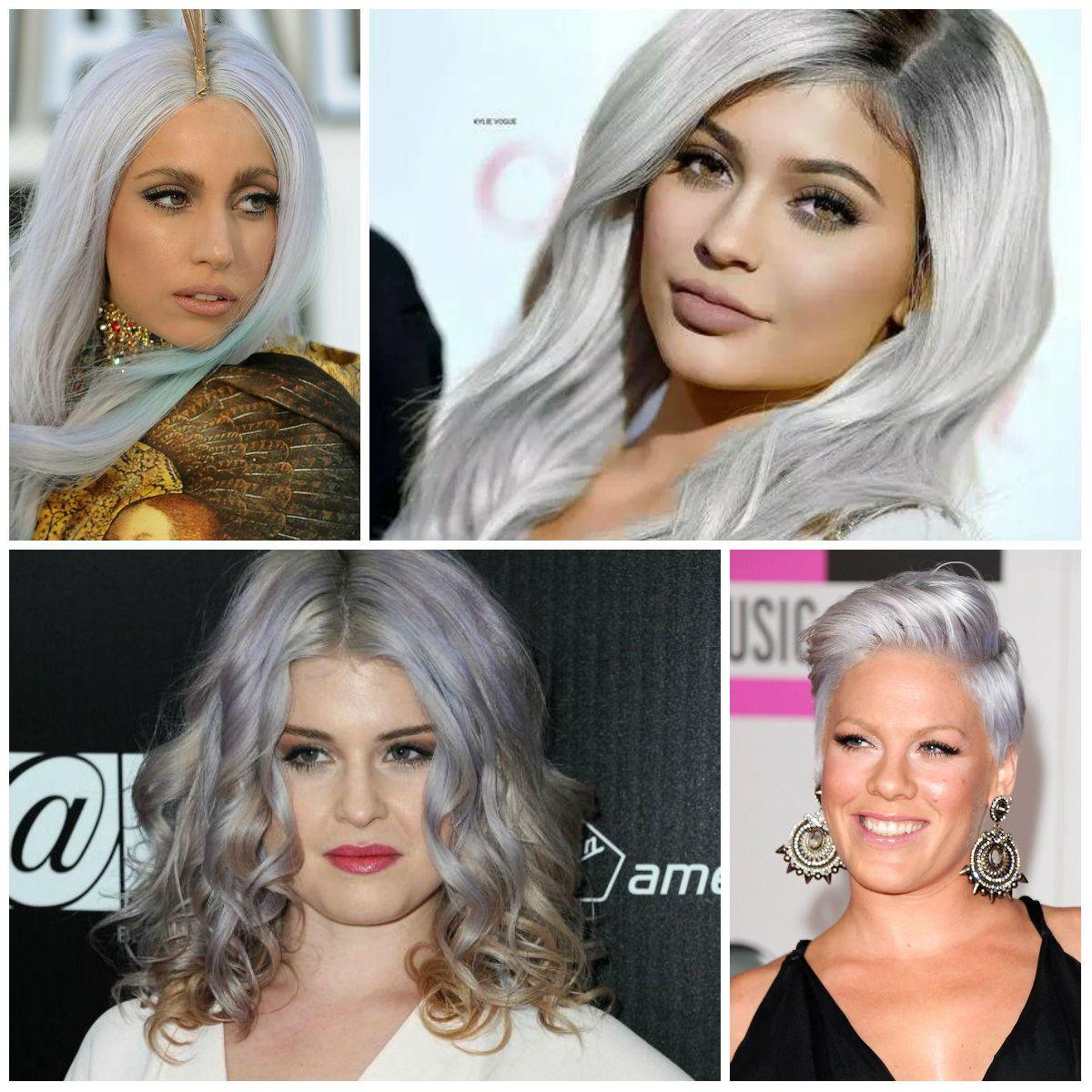 Graue haare colorieren