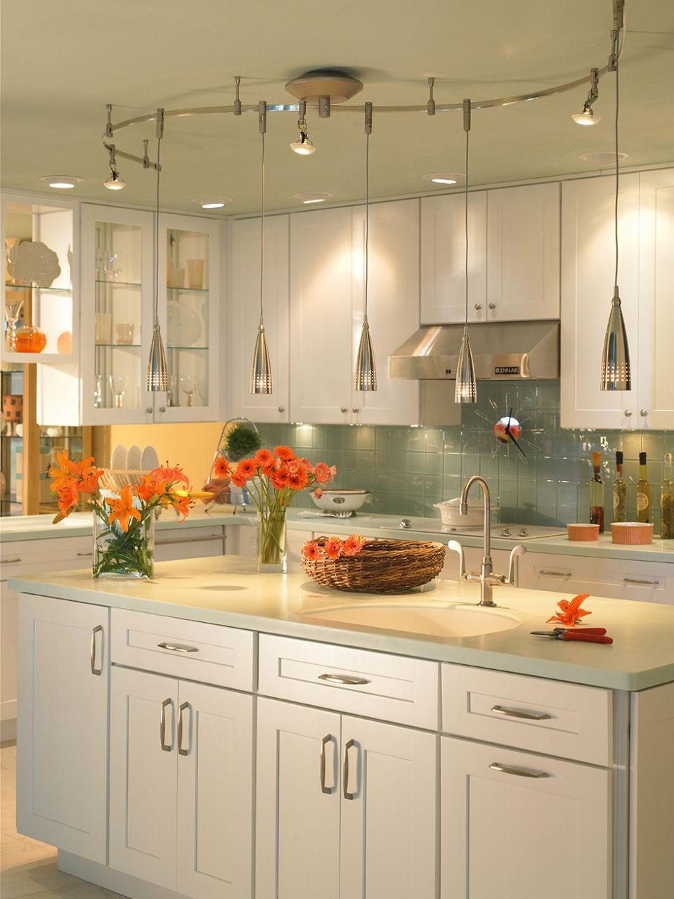 Bend And Extend Your Kitchen Lighting